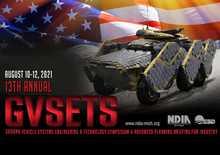 Ground Vehicle systems Engineering & Technology Symposium event logo
