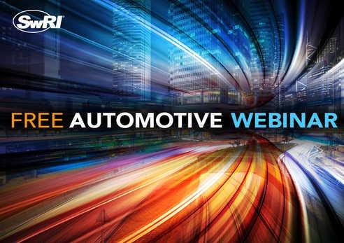 Go to SwRI Automotive Webinar