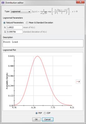 image of screen shot of distribution editor