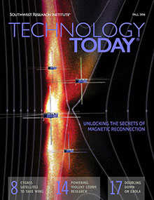 Cover of Fall 2016 issue of Technology Today magazine