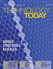 Cover of Spring 2016 issue of Technology Today magazine