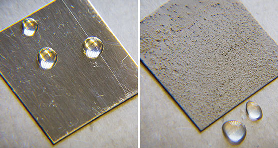 superhydrophobic coatings