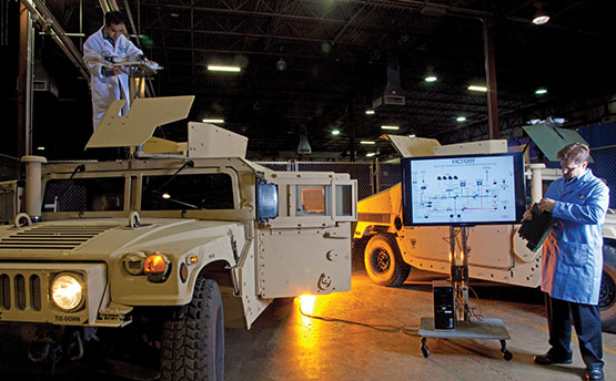 Tactical vehicle systems