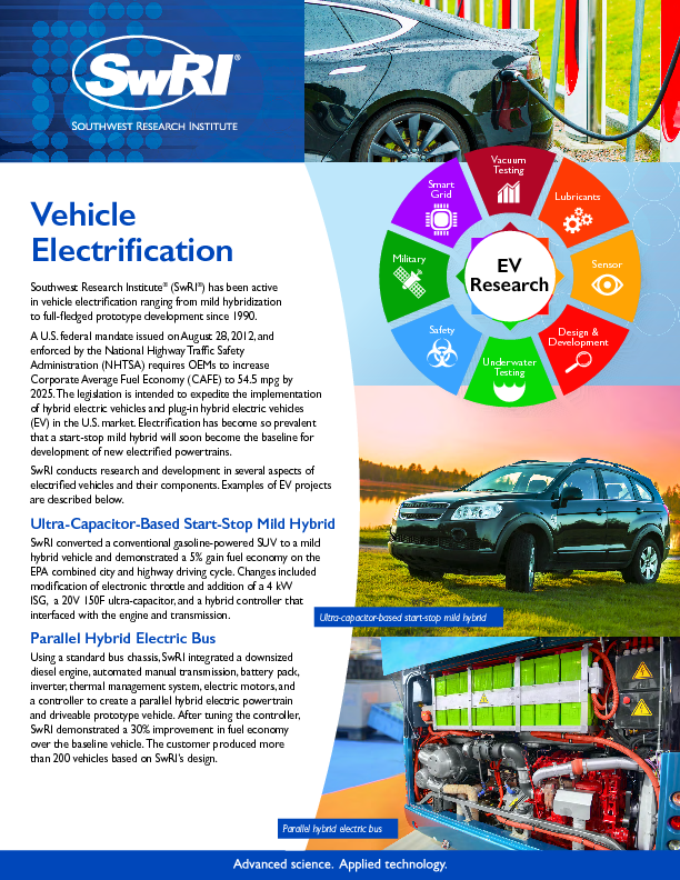 Go to Vehicle Electrification flyer